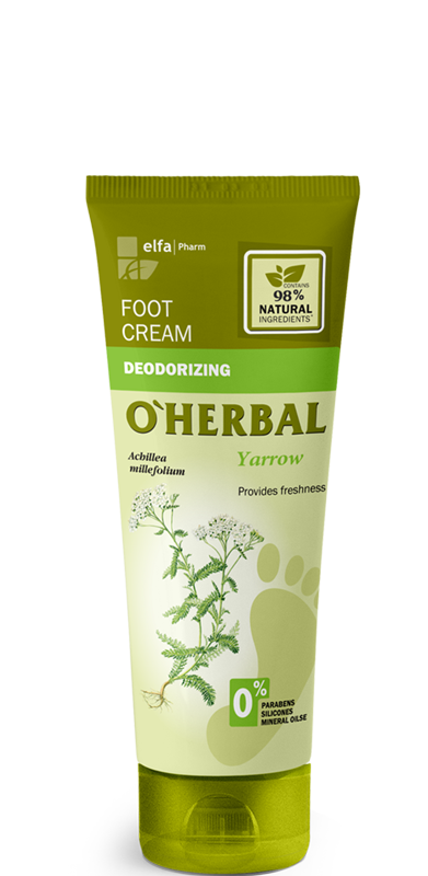 deodorizing foot cream